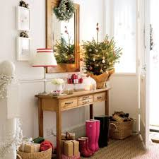 contemporary christmas entryway decorations holiday decorations