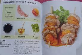 plat cuisiné sans sel brochettes de porc à l abricot simplissime light