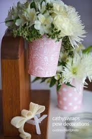 pew decorations pew clip vase pew decorations wedding ceremony aisle flower vases