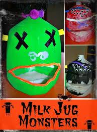 Halloween Decorations Using Milk Jugs - 85 best milk jug kid u0027s crafts images on pinterest milk jug