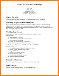 sample resume for teacher assistant 8 sample resume objectives for teachers lpn resume related for 8 sample resume objectives for teachers