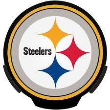 nfl motion activated light up decals nfl power decal pittsburg steelers walmart com