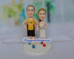 bride and groom cake topper precious moments inspired