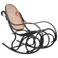 Thonet Vintage Chairs Old Original Rocking Chair By Michael Thonet For Gebruder Thonet