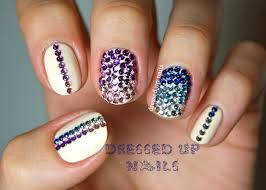 nail designs with rhinestones and bows imagesjordanisadore