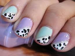 casual cool nail designs for short nails easy fashion style