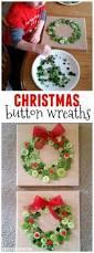 button christmas wreath craft button wreath christmas buttons