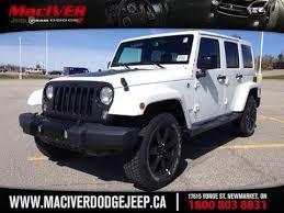 white jeep wrangler for sale ontario 2014 white jeep wrangler altitude newmarket ontario maciver