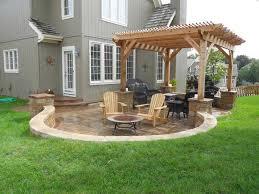 Awesome Backyard Ideas Awesome Concrete Backyard Ideas Concrete Patio Ideas For Small