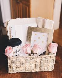 bridal gift gift basket for on wedding day