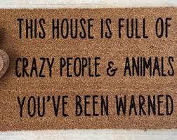 doormat funny funny doormats etsy