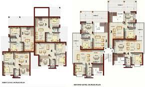 5 Bhk Duplex House Plans India Classy Ideas Unique Duplex House Plans 4 For Home Design With On