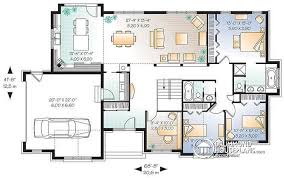 Large Bungalow Floor Plans House Plan W3224 Detail From Drummondhouseplans Com