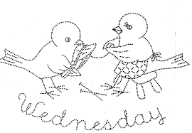 vintage hand embroidery pattern pdf file 1013 birds for days of