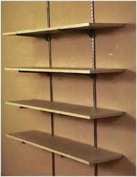 Lowes Shelving Unit by Wall Shelves Design Wall Mounted Shelving Systems For Garage Open