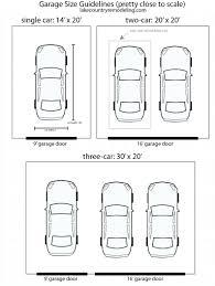 garage dimensions sizesoversized one car garage size dimensions minimum venidami us 10