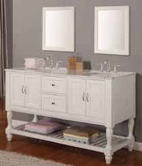 White Double Sink Bathroom Vanities by 60inc White Double Sink Bathroom Vanities S3104 From Double Sink