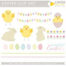 easter clipart easter embellishments clip art egg garland