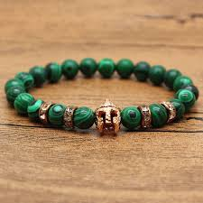 mens bracelet with stones images Gladiator helmet bracelet owl beaded bracelet lion beaded jpg