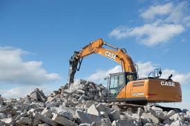 case cx250d full size excavator case construction equipment
