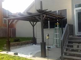 Photos Of Pergolas by Ana White Pergola Project Diy Projects