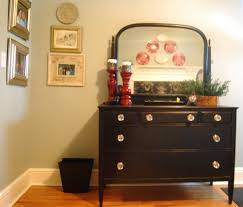 Decorating A Bedroom Dresser Vanity Dresser With Shelves And 3 Drawers With Black Color Tv