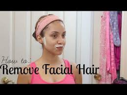 stop womens chin hair growth how i remove my facial hair painless quick easy dulce