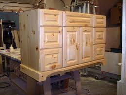 DIY Rustic Kitchen Cabinets Ideas  Luxury Homes - Rustic pine kitchen cabinets