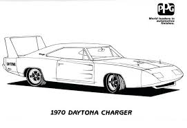 dodge car coloring pages charger ram 1500 viper colouring