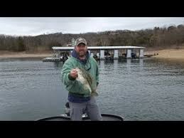 table rock lake fishing report table rock lake video fishing report march 13 2018 youtube