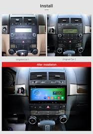 8 8 inch android 6 0 2002 2010 volkswagen touareg gps navigation