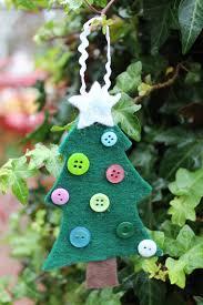 lu bird baby felt christmas tree ornament for kids