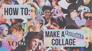 tumblr wallpaper maker how to make a tumblr collage youtube