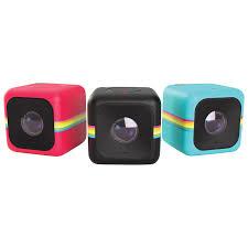 Live Bedroom Cam Polaroid Cube Action Camera Black Wearable Action Cameras