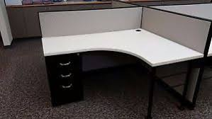 Steelcase Office Desk Office Desk Extended Curved Corner Desk Kick System By