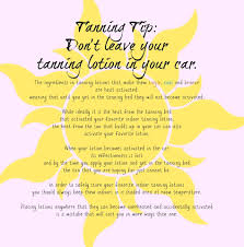 hollywood tans tanning tip don u0027t leave your tanning lotion in
