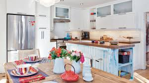 cuisine blanche et bleue cuisine blanc et bleu les idées de ma maison