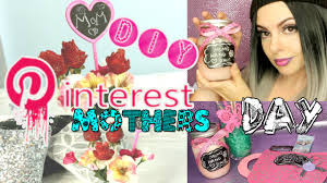 Cute Homemade Mothers Day Gifts by Diy Mothers Day Gift Ideas Pinterest Inspired The Best Gifts To