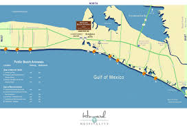 Emerald Coast Florida Map by The Best Emerald Coast Beach Access Points