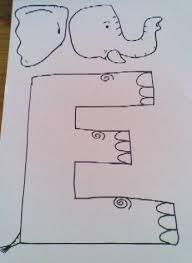 letter e crafts 75 best letter e images on alphabet crafts preschool