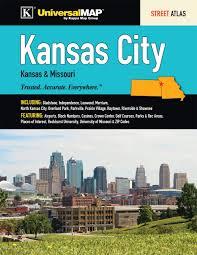 Overland Park Ks Zip Code Map by Kansas City Ks U0026 Mo Street Atlas Universal Map Group