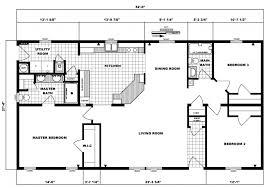 Three Bedroom Ranch Floor Plans Pine Grove G 1785 U2014 Riverview Homes Inc