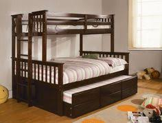 twin over full bunk bed with trundle bed from 1800bunkbed girls