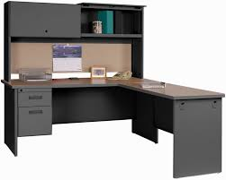L Shaped Desk With Hutch Metal L Shaped Desk By Steelcase Leandrocortese Info