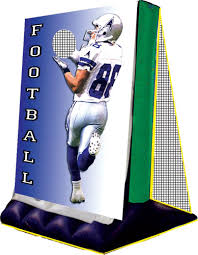 Backdrop Rentals Football Throw Backdrop Inflatable Rental Awesome Amusements