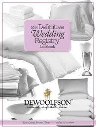 wedding registry book dewoolfson issuu