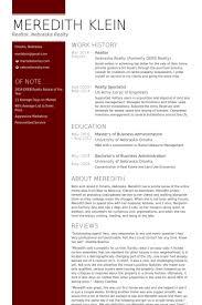 Real Estate Resume Templates Free Marvelous Realtor Resume 29 In Resume Templates Free With Realtor