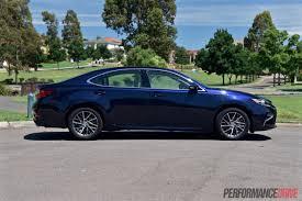 lexus gs is es 2016 lexus es 350 sports luxury review video performancedrive