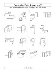 counting cubes worksheets worksheets