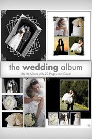10x10 wedding album downloadable wedding album template collection dsd260 backdrop